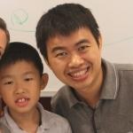 David (father) & Xavier (son)